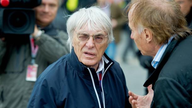 Immer ein offenes Ohr: Bernie Ecclestone