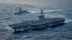 Amerika schickt Flugzeugträger nach Korea