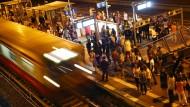 Fahrgast entdeckt Leiche auf U-Bahn