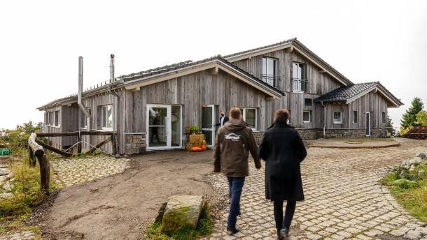 Holzhütten-Charme aus Kanada auf dem Feldberg