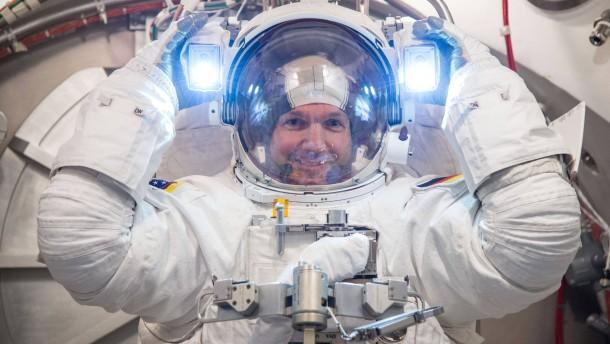Mit Rückenwind zur ISS