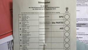OB-Wahl in Köln wird verschoben