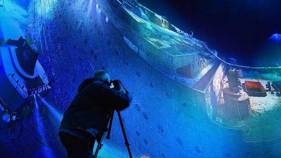 360-Grad-Panorama: Die Titanic als Riesenrundbild