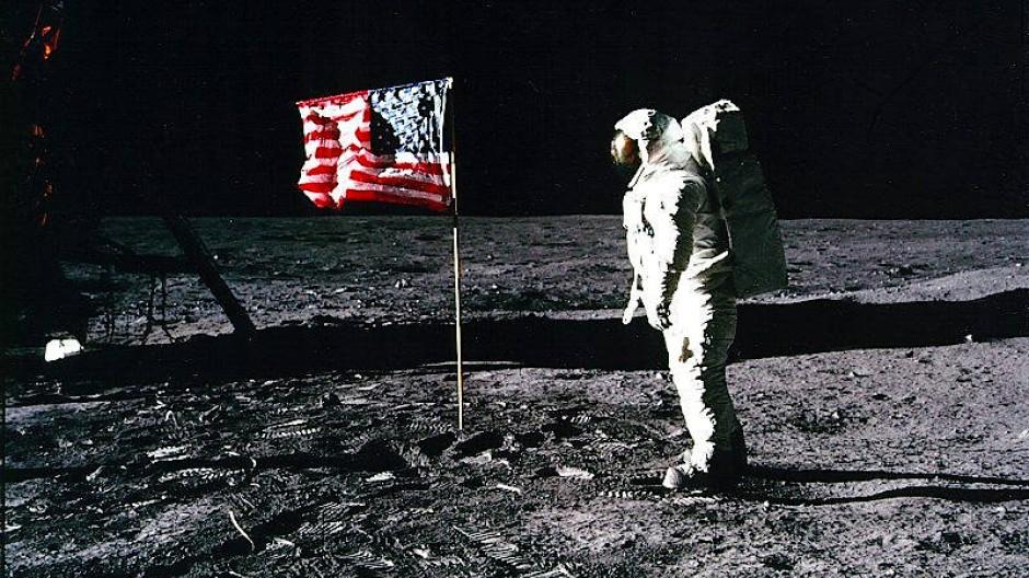 """""""Ein kleiner Schritt für einen Menschen, aber ein großer für die Menschheit"""": Die Mondlandung vom 20. Juli 1969 hat die Welt  beeindruckt."""