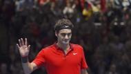 Djokovic und Federer im Finale