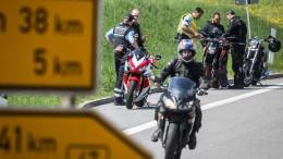 Viele tödliche Motorradunfälle am Wochenende