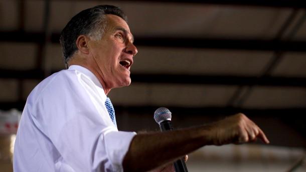 Erfolgreicher Stimmungstest für Romney