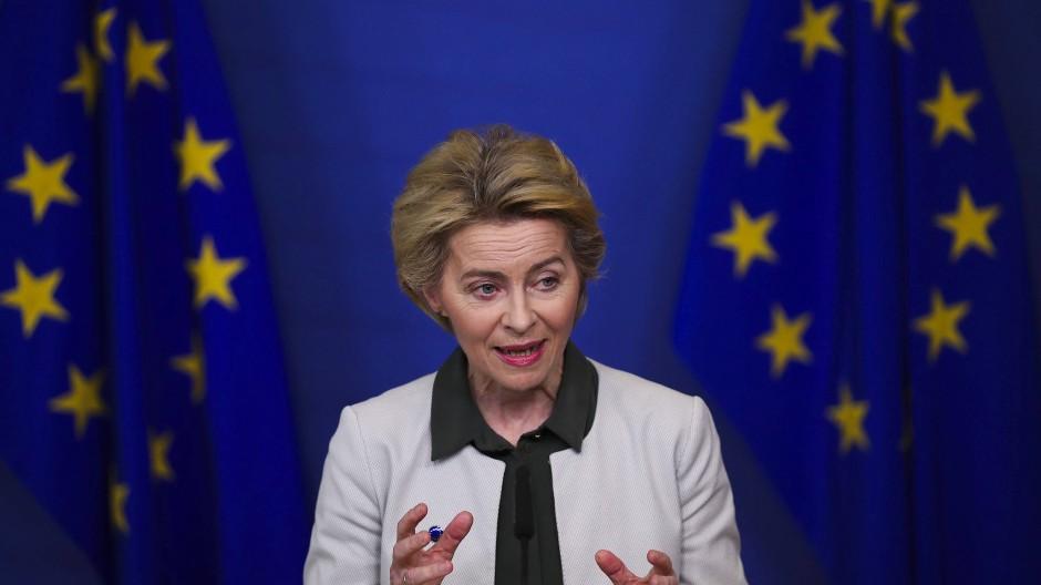 """Es grünt nicht nur zur Sommerzeit: Ursula von der Leyen stellt ihren """"Green Deal"""" in Brüssel vor"""