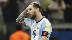 Auch Messi kann Argentiniens Absturz nicht aufhalten