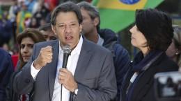 Haddad kandidiert als neuer Präsident Brasiliens