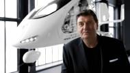 Der Initiator des Red Dot Designpreises, Peter Zec