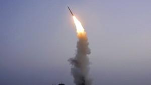 Nordkorea meldet Test von neuer Flugabwehrrakete