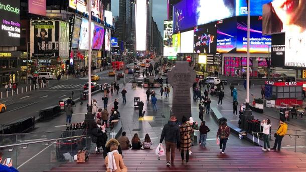 Jetzt schläft selbst New York