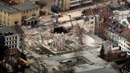 Kollaps mit Folgen: Zwei Menschen starben beim Einsturz des Kölner Stadtarchivs 2009.