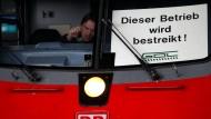 Lokführer streiken ab Dienstagabend