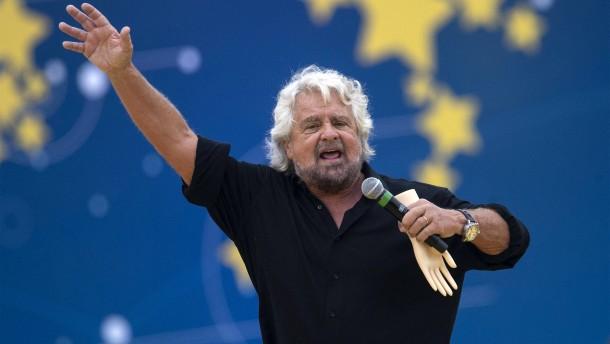 Italiens Fünf Sterne drohen zu verglühen