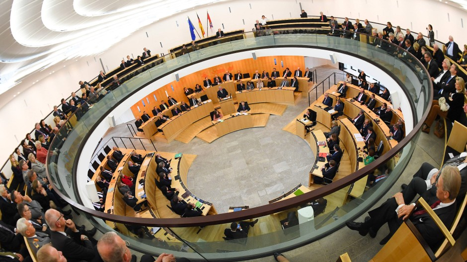Gewachsen: So manche Stimme macht sich für eine Verkleinerung des Hessischen Landtags stark