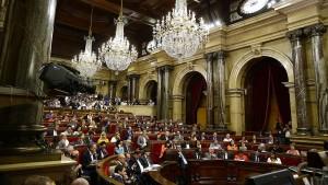 Katalonien treibt Pläne für Referendum voran