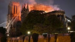 Notre-Dame vor völliger Zerstörung gerettet