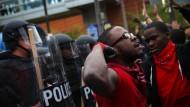 Ausschreitungen in Baltimore