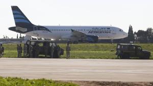 Flugzeugentführung nach Malta beendet