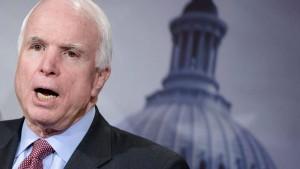 McCain will Trump nicht bei seiner Beerdigung dabeihaben
