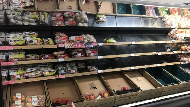 Brexit gefährdet die Lebensmittelversorgung