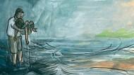"""""""Ich habe versucht, an das wichtigste menschliche Gefühl zu rühren, die Empathie"""": Yelins Comic zur Flüchtlingskrise, Schlussbild"""