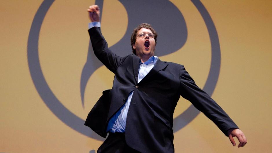 Die Piraten um ihren Bundesvorsitzenden Nerz fühlen sich nun endgültig als Machtfaktor im etablierten Parteiensystem.