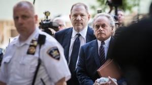Harvey Weinstein plädiert vor Gericht auf nicht schuldig