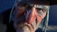 Auch ihm konnte geholfen werden: Ebenezer Scrooge, Figur aus Charles Dickens` Weihnachtsgeschichte – hier in Robert Zemeckis` Trickfilmversion von 2009 –, zeigt alle Anzeichen einer Verbitterung.