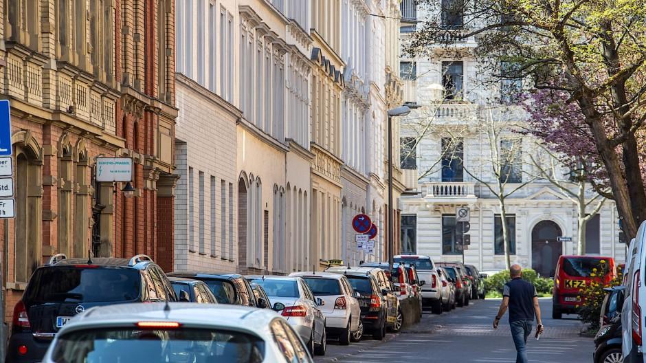Teures Pflaster: das Wiesbadener Westend