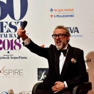 Gewinner von 2018 : Auch Massimo Bottura beteiligt sich an der Aktion.