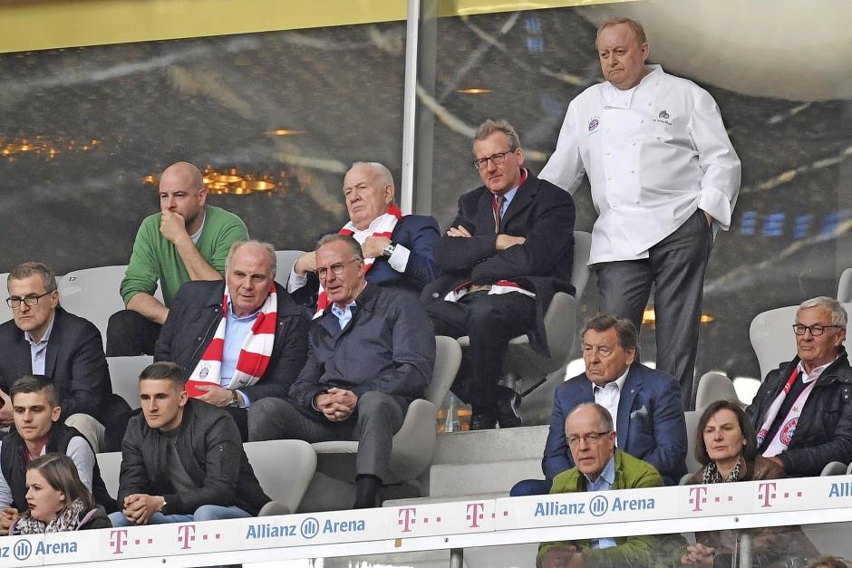 Stammgast auf der Ehrentribüne des FC Bayern