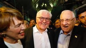 Steinmeier beginnt heiklen Antrittsbesuch in Israel