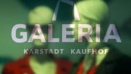 Das Logo der Warenhauskette Karstadt Kaufhof