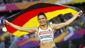 Bronze für Hürdensprinterin Dutkiewicz