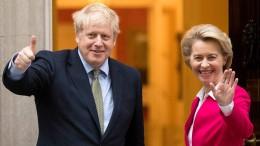 Längere Übergangsphase beim Brexit gefordert
