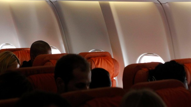 An empty passenger seat believed to be reserved by former U.S. spy agency contractor Edward Snowden is seen on a plane to Cuba in Moscow's Sheremetyevo airport
