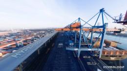 Hamburger Hafen plant Hyperloop für Container
