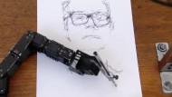 Eine Zeichenklasse aus Robotern