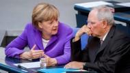 Merkel und Schäuble lehnen Schuldenschnitt ab