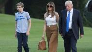 Familie Trump: Melania und Barron ziehen ins Weiße Haus