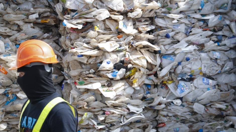 Müll aus Australien in Malaysia.