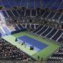 Imposant: Des größte Tennisstadion der Welt hat nun ein ausfahrbares Dach.