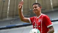 Neuzugang Rodriguez will mit Bayern Titel gewinnen