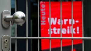 Warnstreik bei Straßenmeistereien und Universitäten