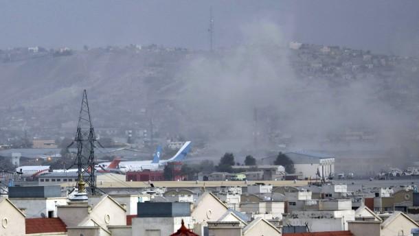 Mehrere Raketen auf Flughafen in Kabul abgefeuert