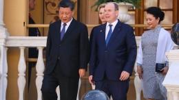 "Xi Jinping in Monaco: ""Was sind die beiden süß"""