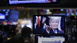Trump rät zum Aktienkauf